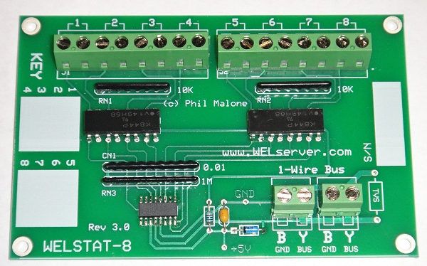 Web Energy Logger Online Store - 1 wire hub schematic